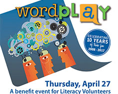 Literacy Volunteers Presents: Wordplay 2017