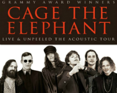 Cage The Elephant:<br> Live & Unpeeled, The Acoustic Tour.