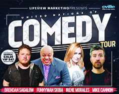 Lifeview Marketing Presents: 7th Annual United Nations of Comedy Tour