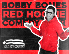 Starr Hill Presents: Bobby Bones Red Hoodie Comedy Tour with musical guest Brandon Ray
