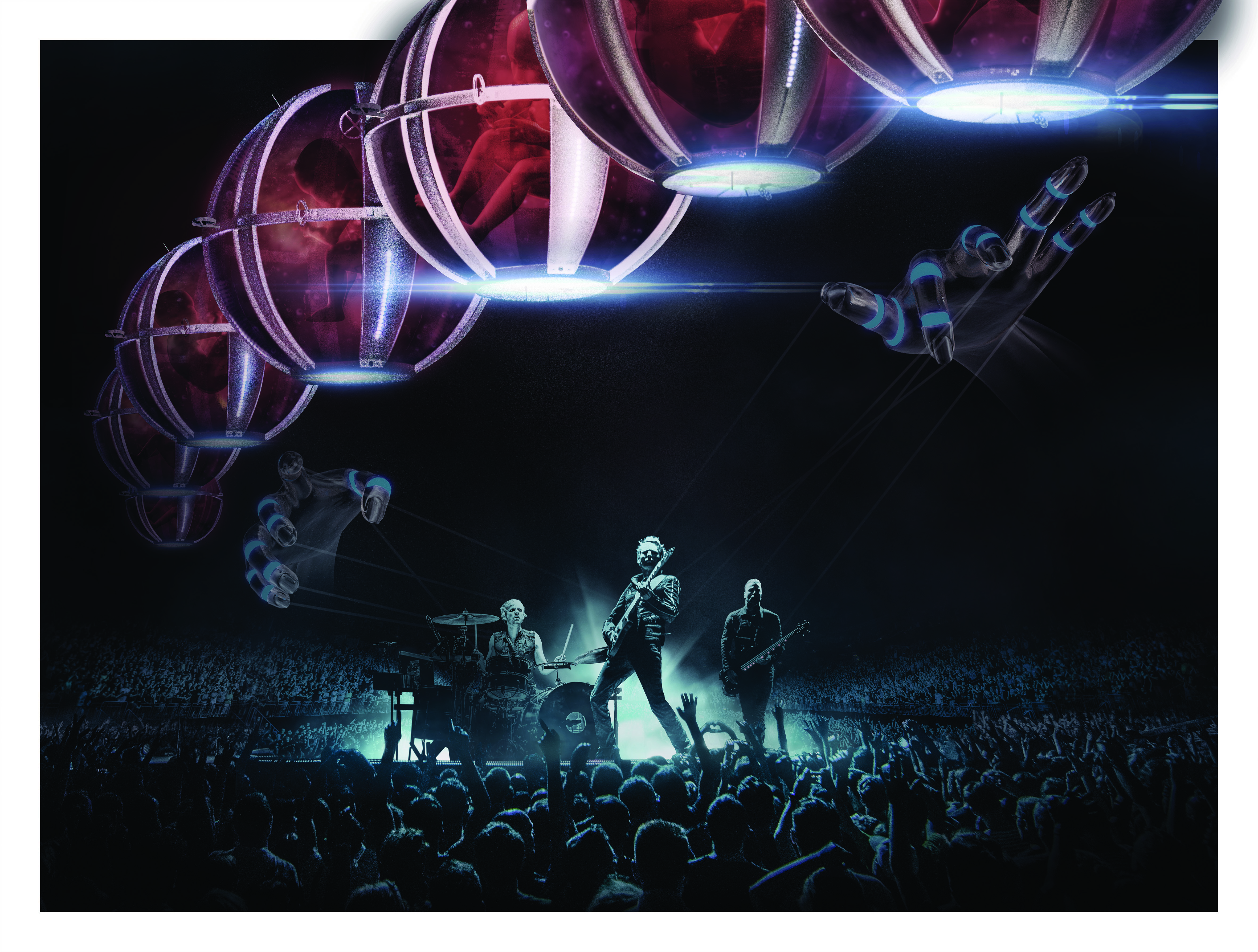 Paramount Presents: Muse Drones World Tour Broadcast in HD