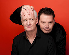 Upfront, Inc. and Tom Tom Present: Colin Mochrie & Brad Sherwood – Scared Scriptless