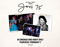Paramount Presents:  JONI 75 – A Birthday Celebration in HD