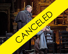 Met Live in HD: Tosca – Canceled
