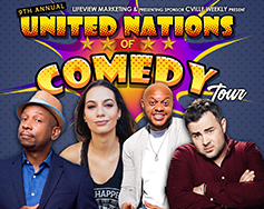 Lifeview Marketing and C-Ville Weekly Present: 9th Annual United Nations of Comedy Tour