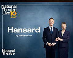 Paramount Presents: National Theatre Live in HD – Hansard