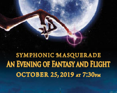 Waynesboro Symphony Orchestra Presents: Symphonic Masquerade – An Evening of Fantasy and Flight!