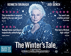 Paramount Presents: Branagh Theatre Live in HD – The Winter's Tale