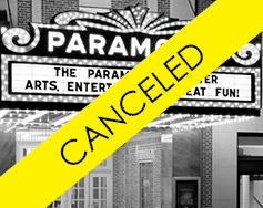 Tour The Paramount Theater! – Canceled
