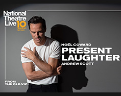 Paramount Presents: National Theatre Live in HD – Present Laughter