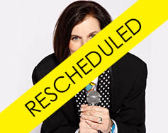 Upfront Inc. Presents: Paula Poundstone – Rescheduled 9/26/2021