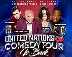 Lifeview Marketing Presents: 10th Annual United Nations of Comedy Tour